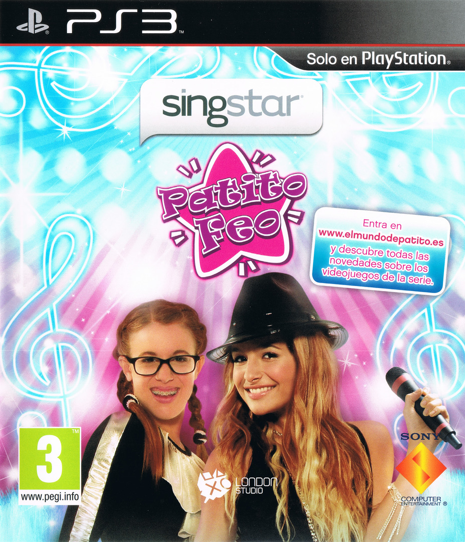 SingStar Patito Feo PS3 coverHQ (BCES00873)