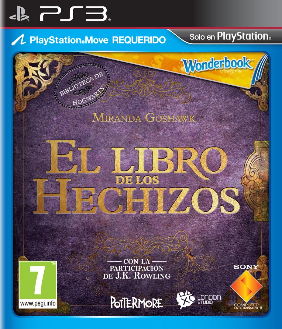 El Libro de los Hechizos PS3 coverHQ (BCES01531)