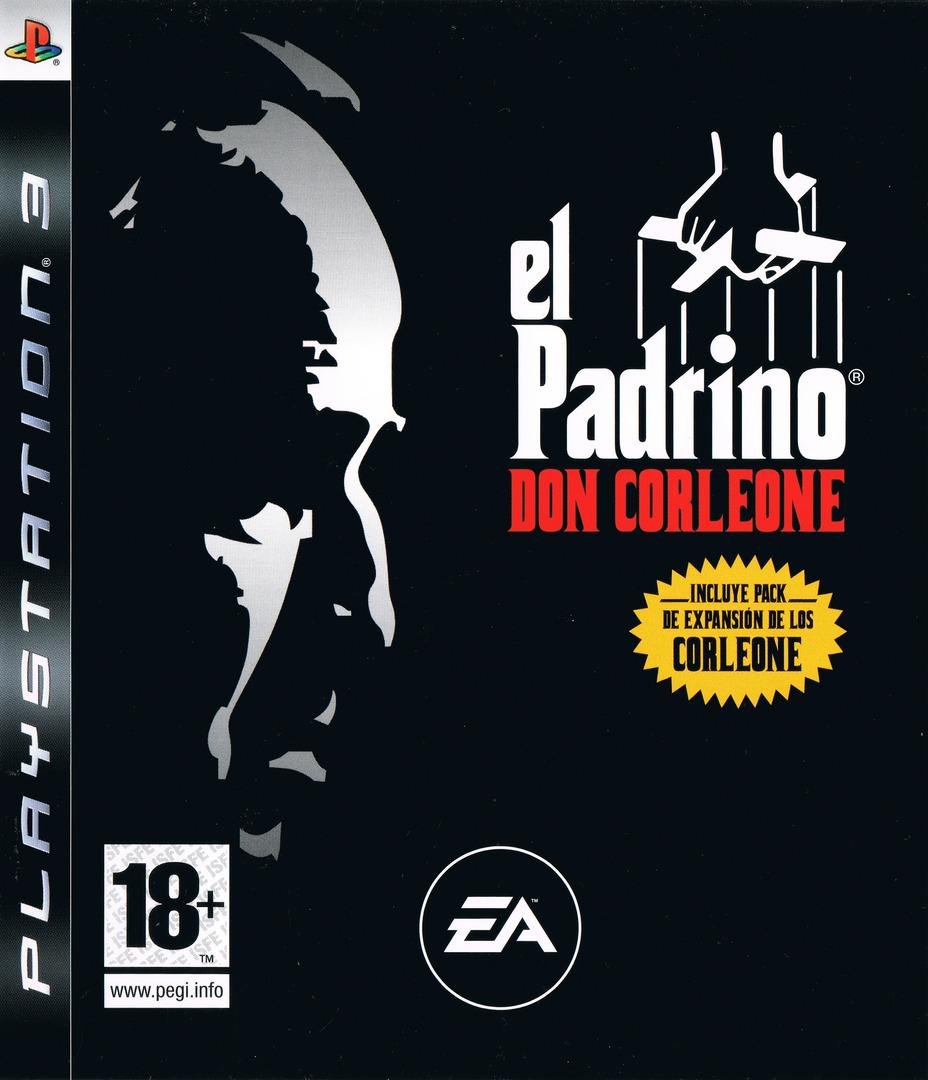 El Padrino:Don Corleone PS3 coverHQ (BLES00047)