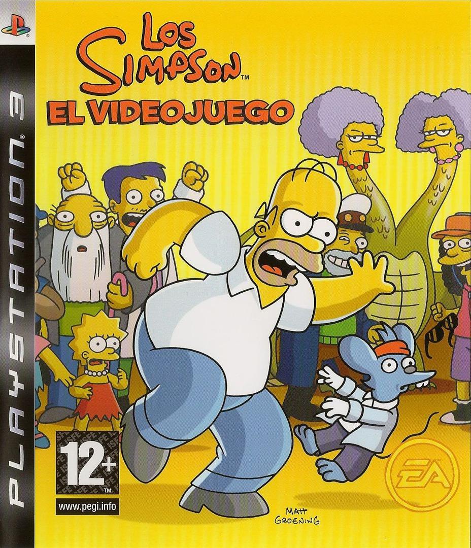 Los Simpsons: El Videojuego PS3 coverHQ (BLES00142)