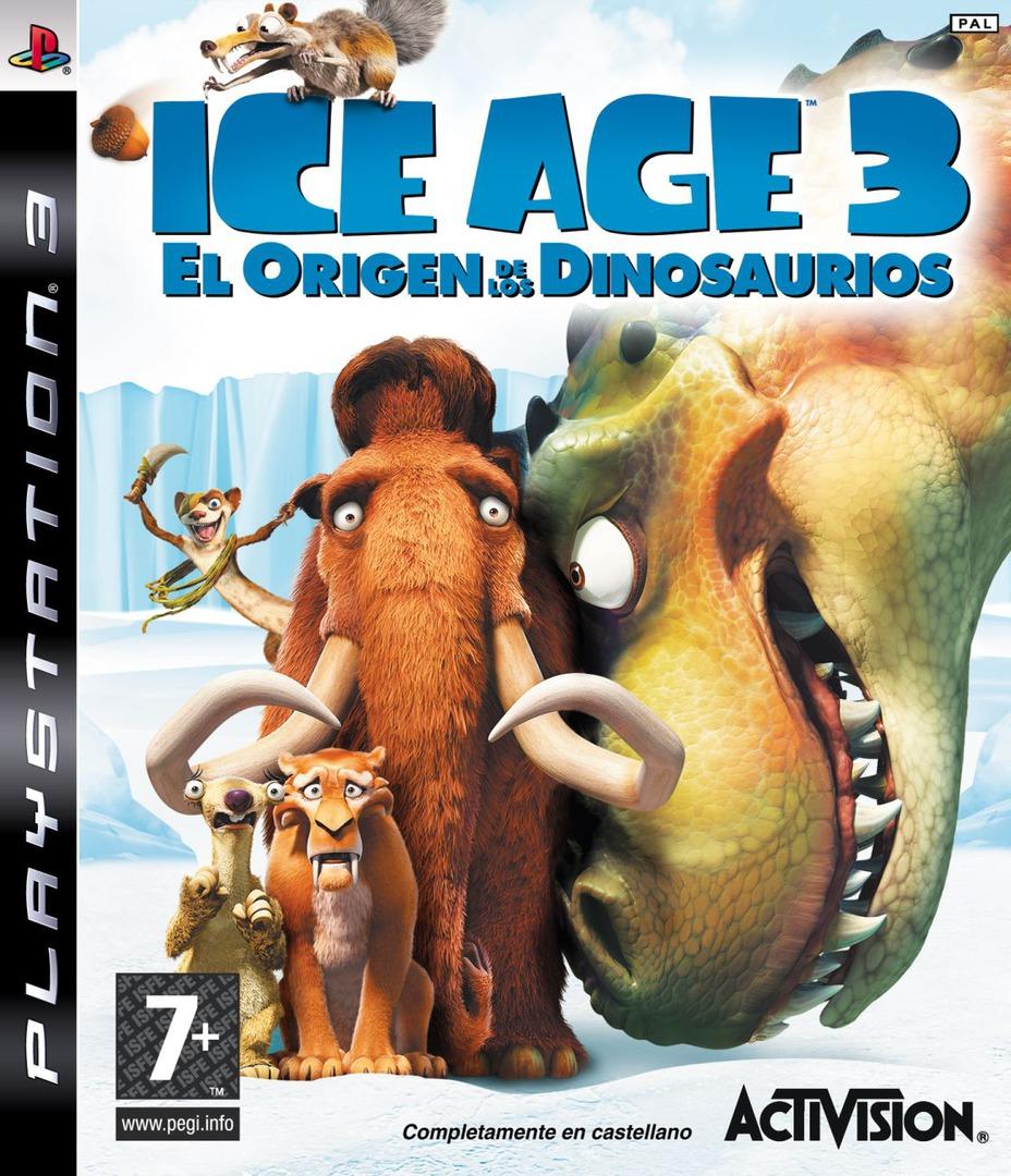 Ice Age 3: El Origen De Los Dinosaurios PS3 coverHQ (BLES00522)