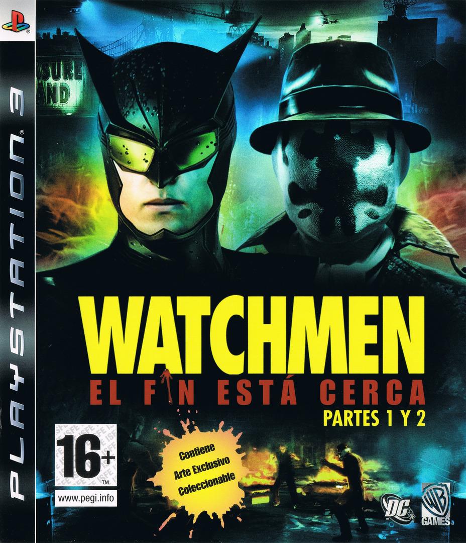 Watchmen: El Fin Está Cerca - Partes 1 y 2 PS3 coverHQ (BLES00605)