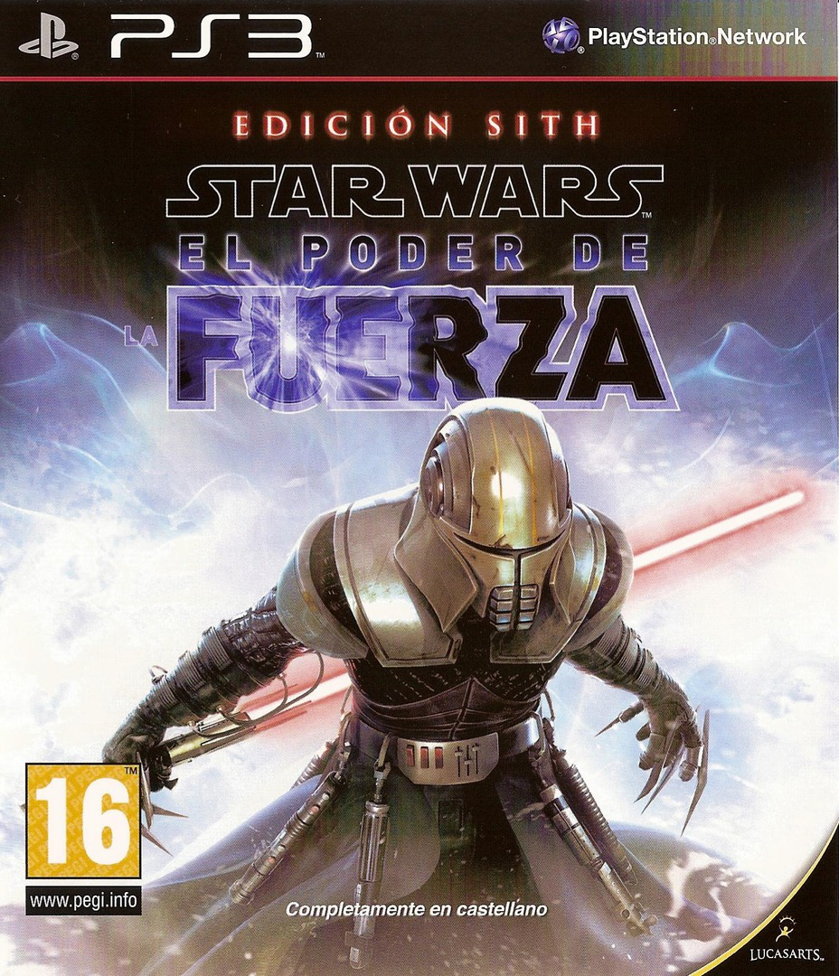 Star Wars: El Poder de la Fuerza: Edición Sith PS3 coverHQ (BLES00678)