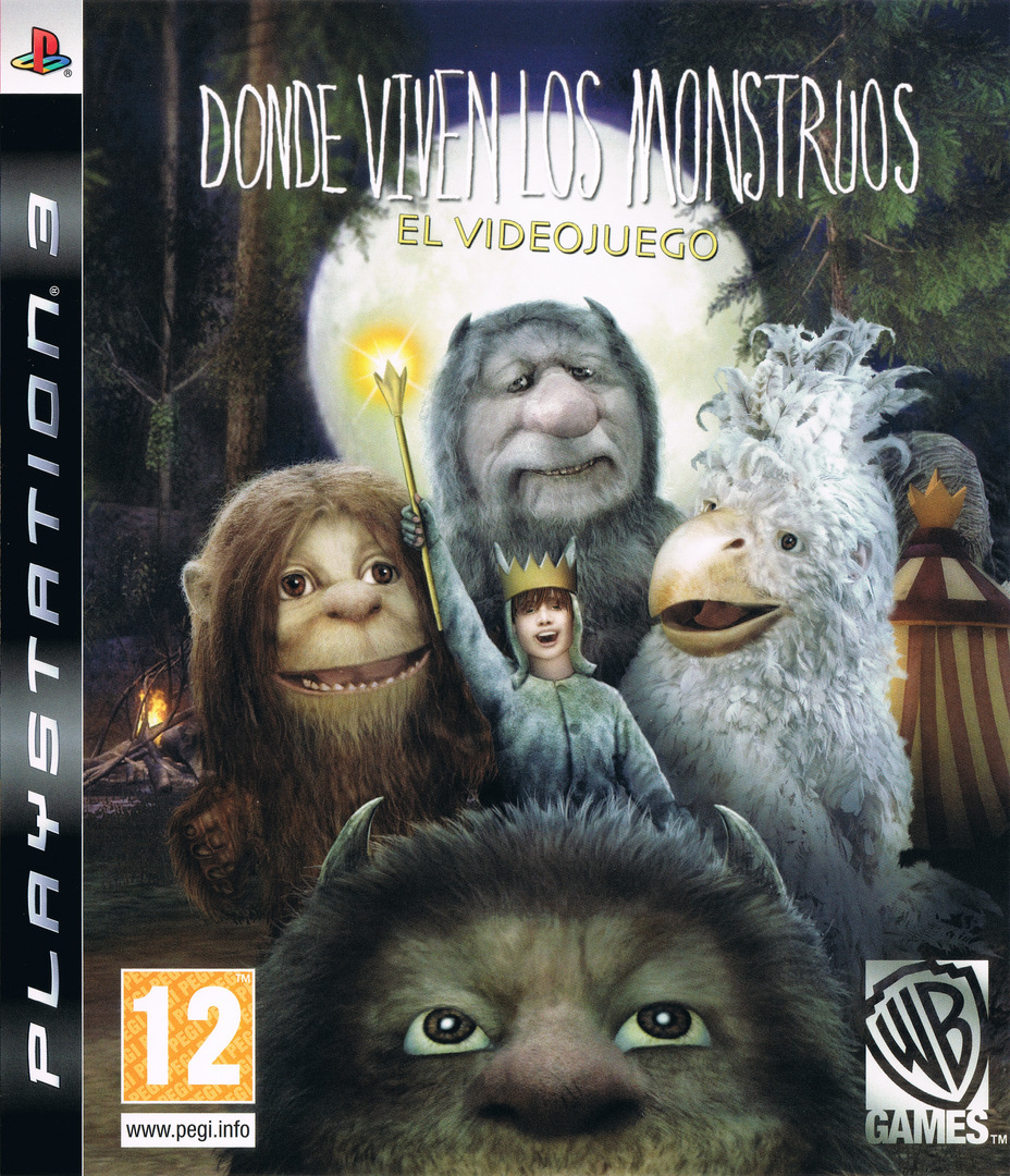 Donde viven los Monstruos PS3 coverHQ (BLES00724)