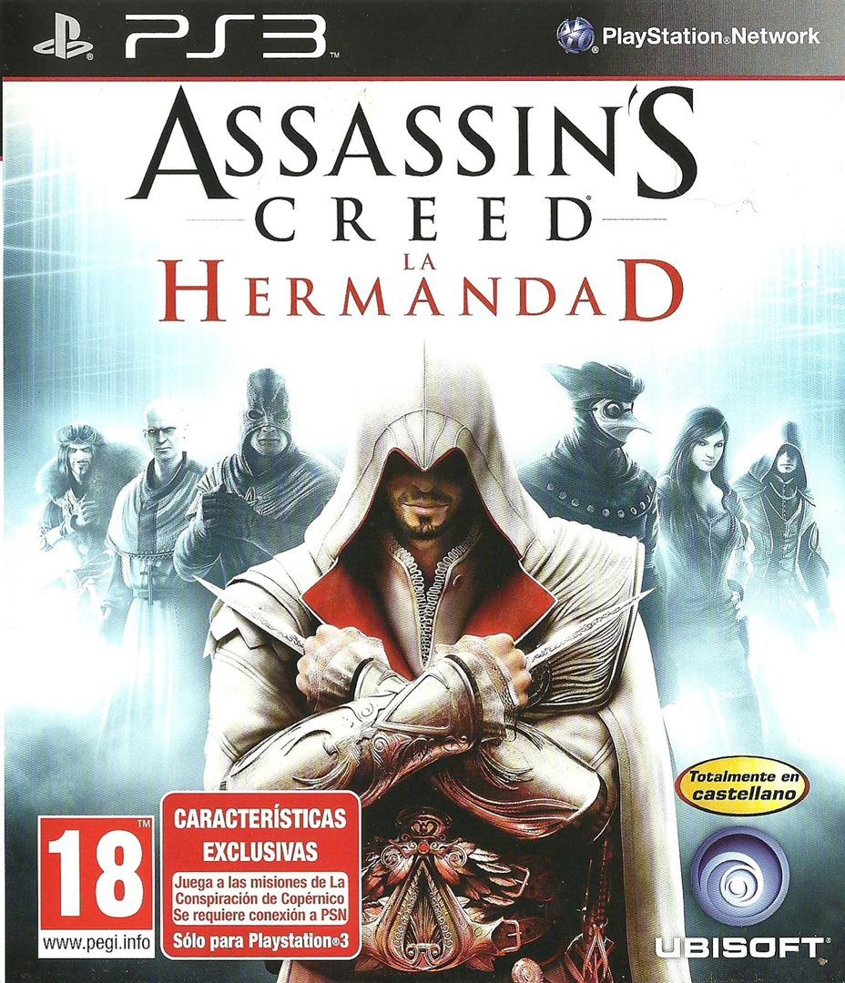 Assassin's Creed: La Hermandad PS3 coverHQ (BLES00909)