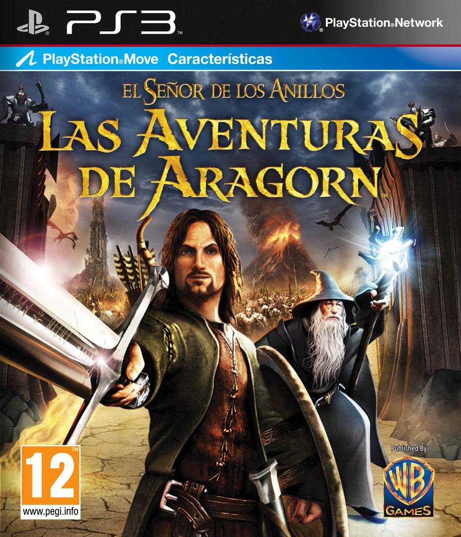 El Señor de los Anillos: Las Aventuras de Aragorn PS3 coverHQ (BLES00998)