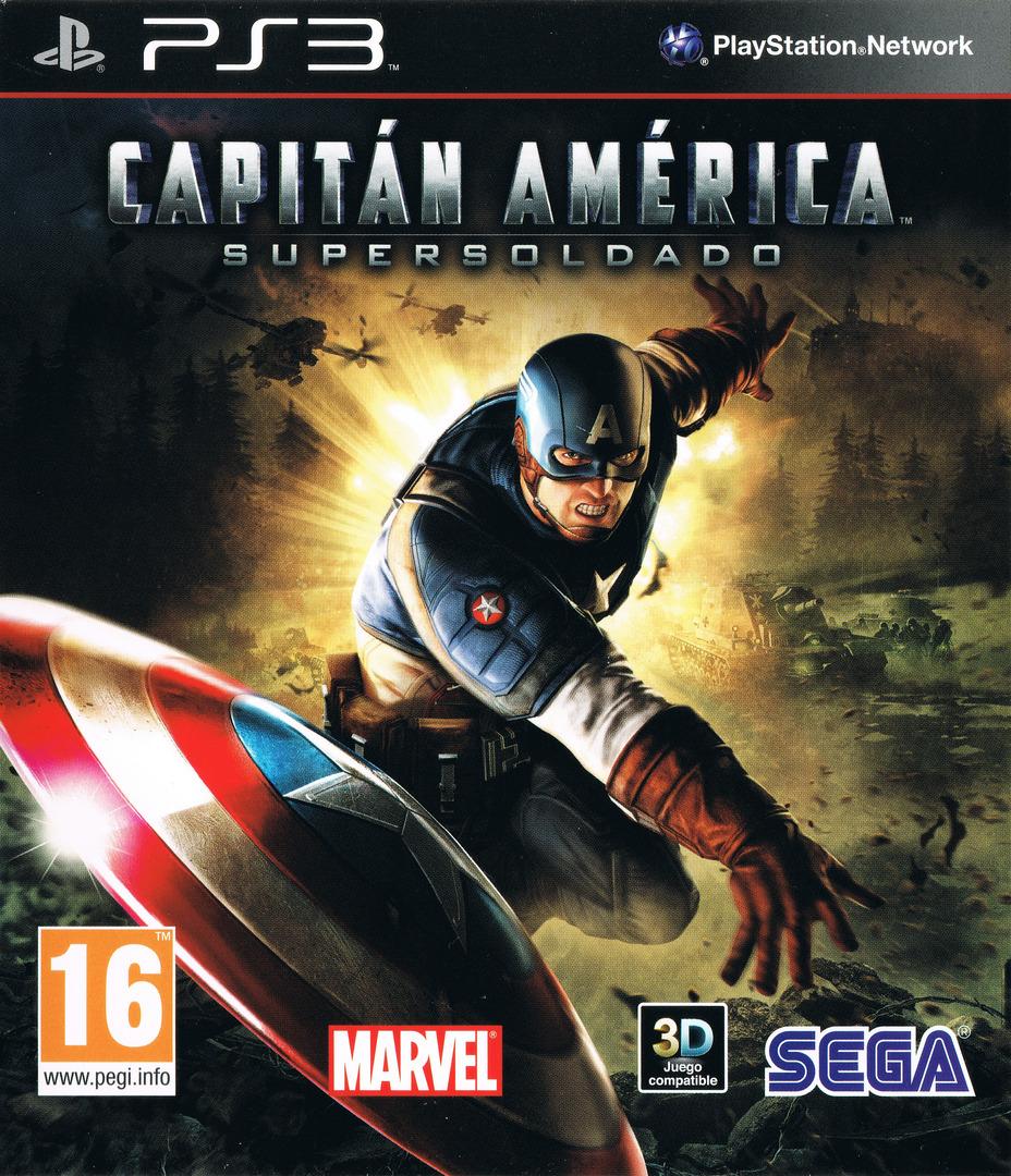 Capitán América: Super Soldado PS3 coverHQ (BLES01167)