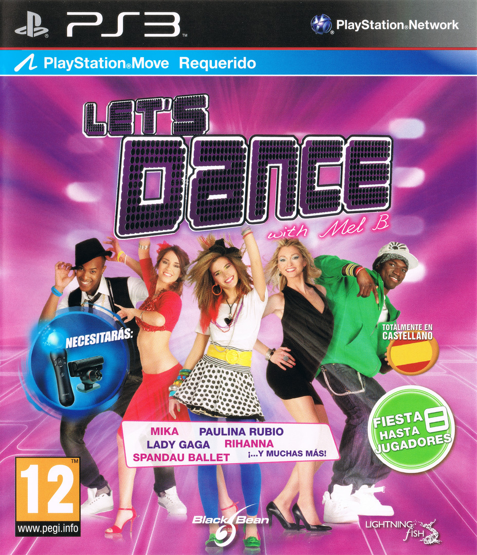 Let's Dance with Mel B PS3 coverHQ (BLES01268)