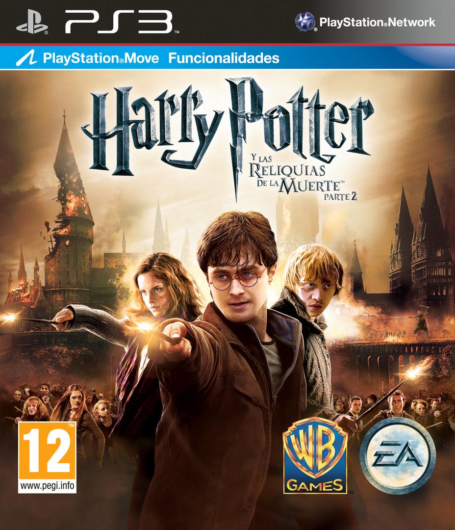Harry Potter y Las Reliquias De La Muerte - Parte 2 PS3 coverHQ (BLES01307)