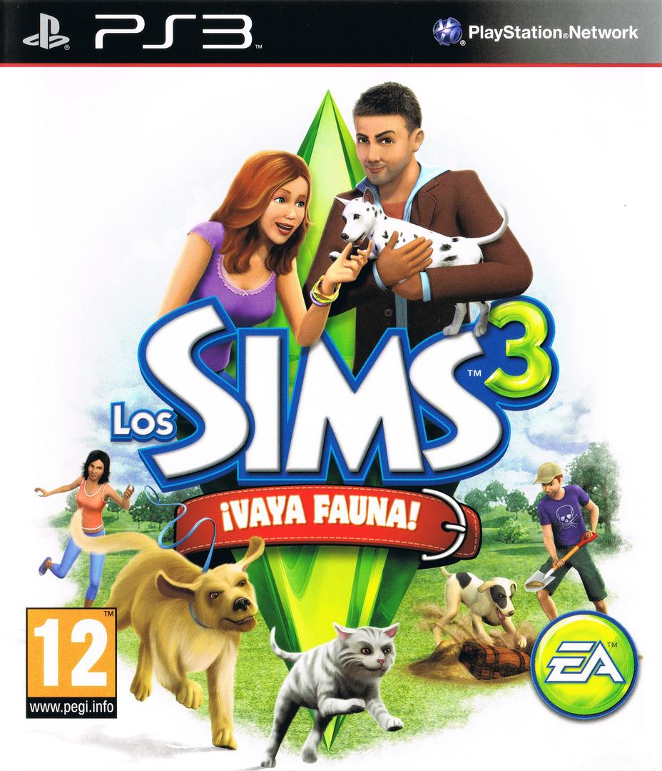 Los Sims 3: ¡Vaya Fauna! PS3 coverHQ (BLES01368)