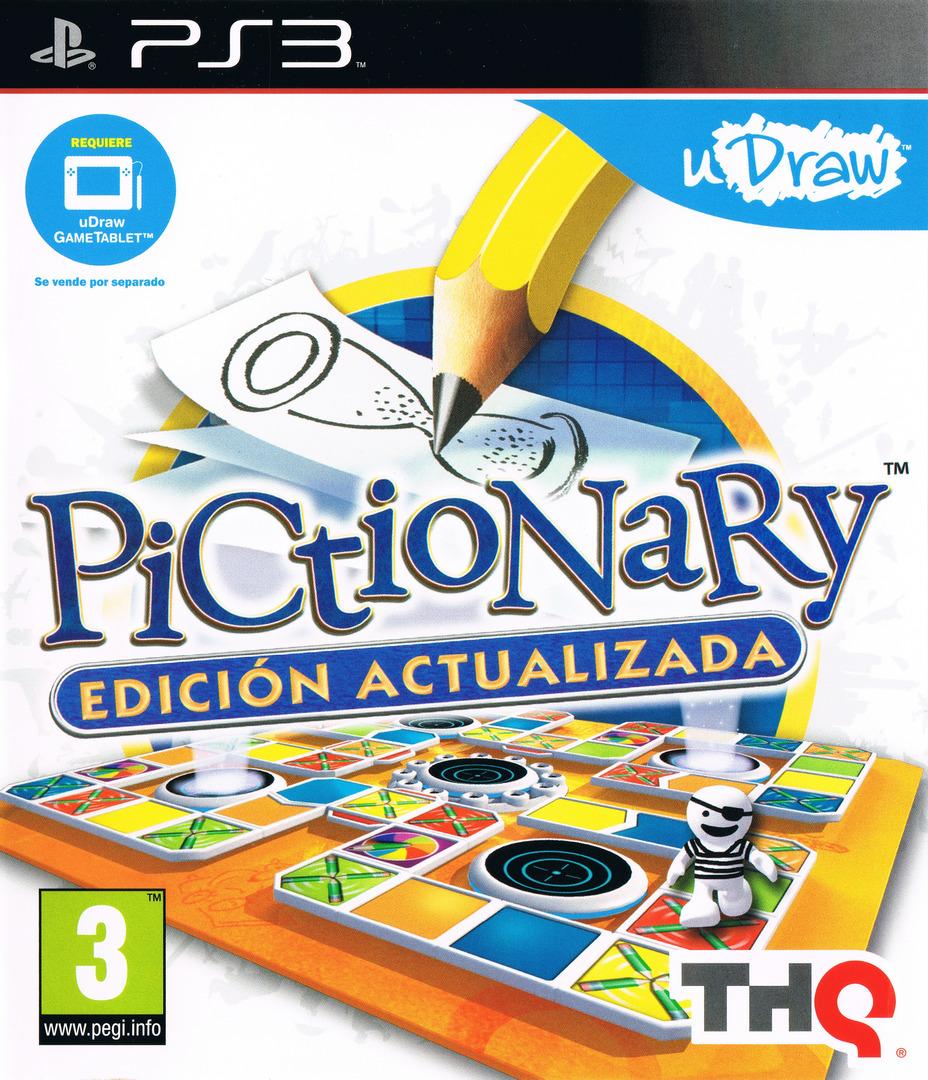 Pictionary: Edición Actualizada PS3 coverHQ (BLES01474)