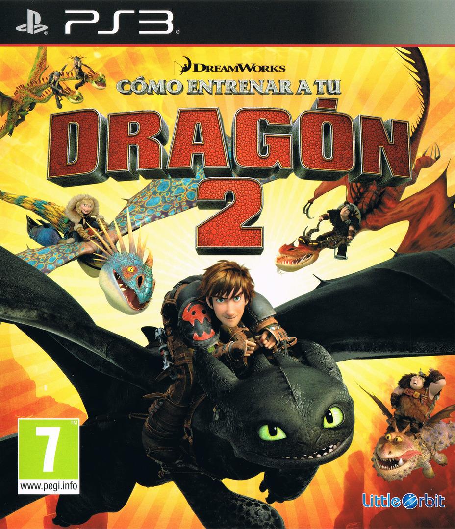 Cómo entrenar a tu Dragón 2 PS3 coverHQ (BLES02005)