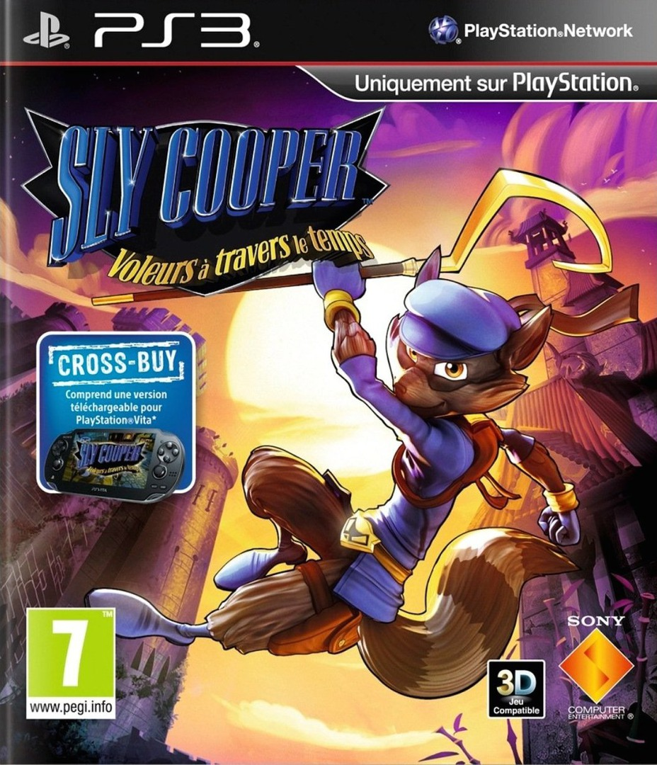 Sly Cooper: Voleurs á travers le temps PS3 coverHQ (BCES01284)