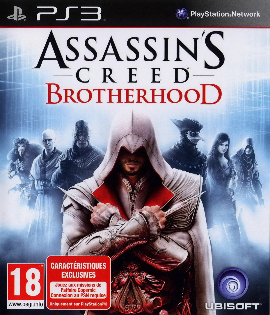 Assassin's Creed: Brotherhood PS3 coverHQ (BLES00909)