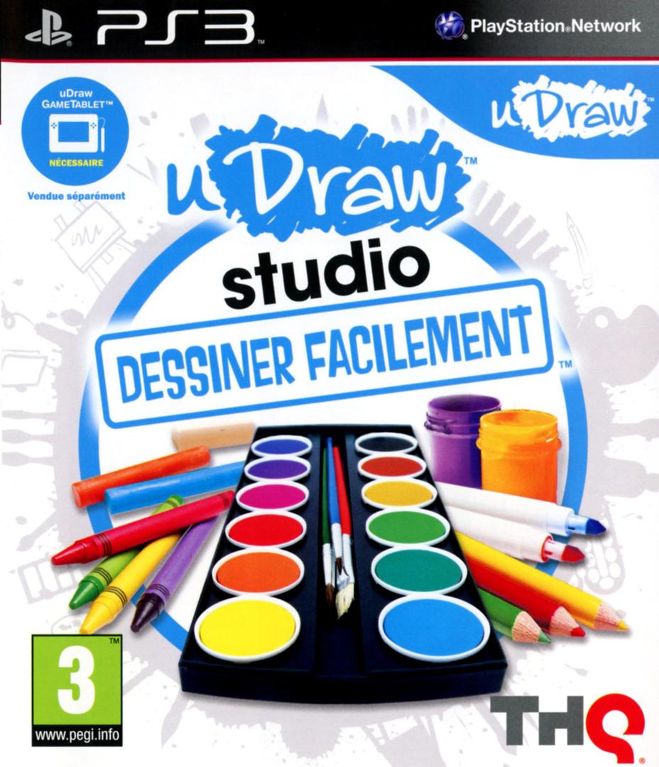 uDraw Studio:Dessiner Facilement PS3 coverHQ (BLES01391)