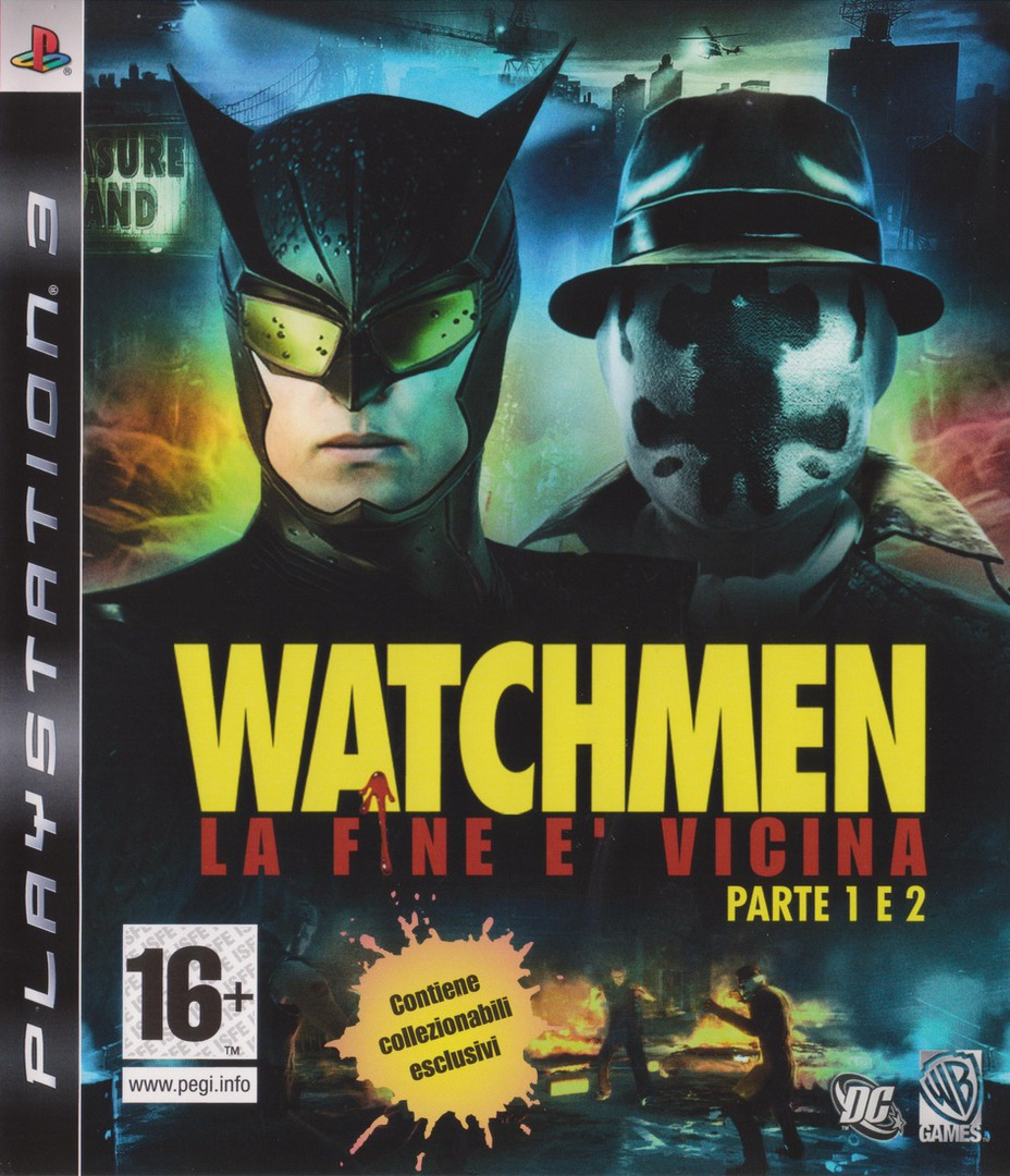 Watchmen: La Fine E' Vicina - Parte 1&2 PS3 coverHQ (BLES00605)