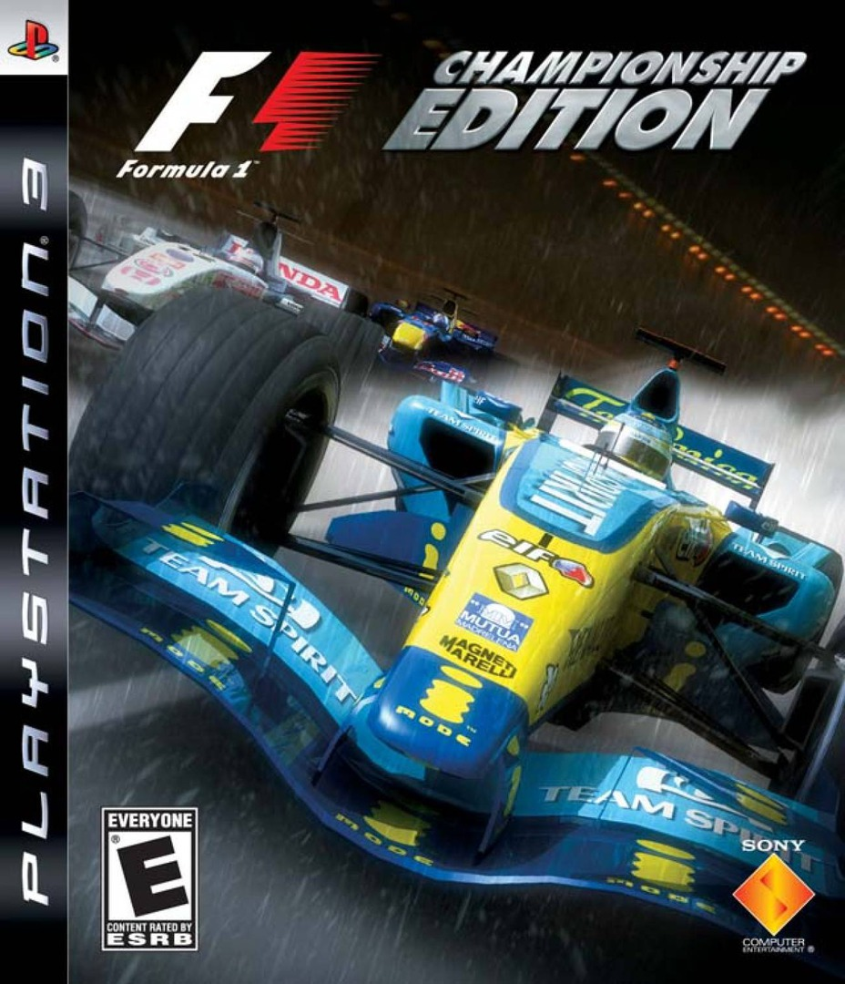 Formula One: Championship Edition PS3 coverHQ (BCUS98142)