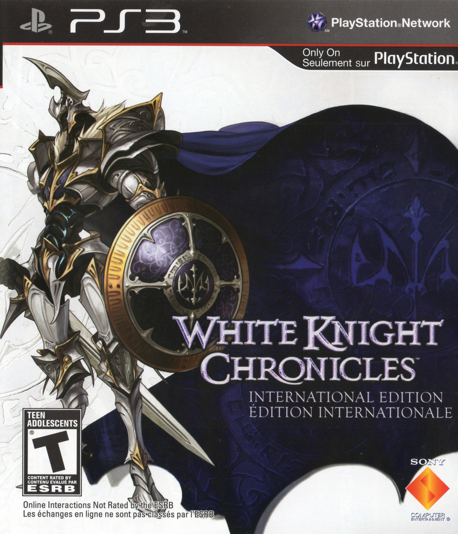 White Knight Chronicles: International Edition PS3 coverHQ (BCUS98146)