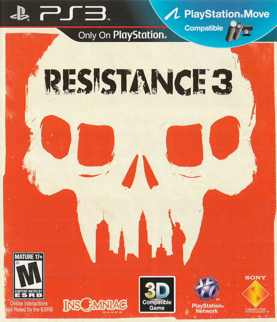 Resistance 3 (Doomsday Edition) PS3 coverHQ (BCUS98176)