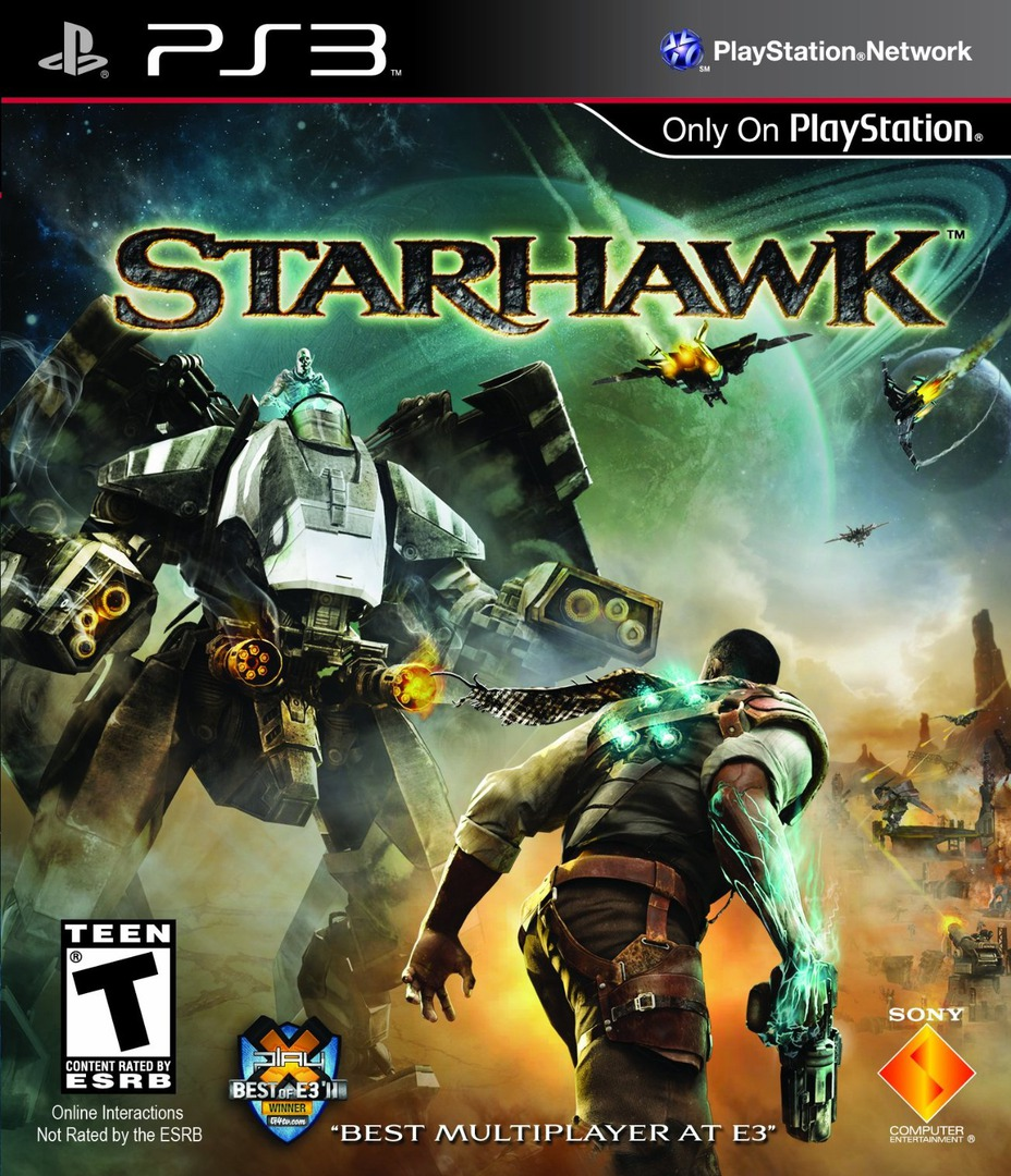 Starhawk Array coverHQ (BCUS98181)