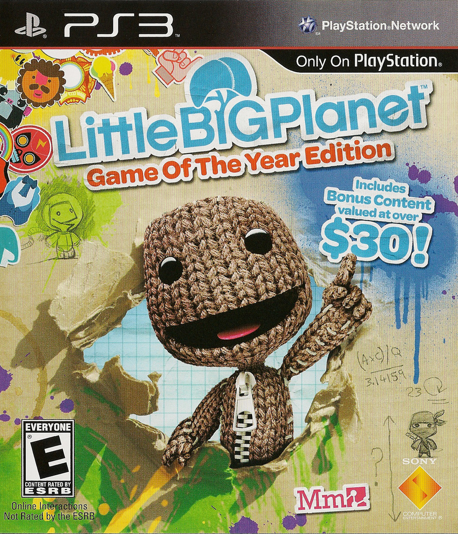LittleBigPlanet (Game of the Year Edition) Array coverHQ (BCUS98208)