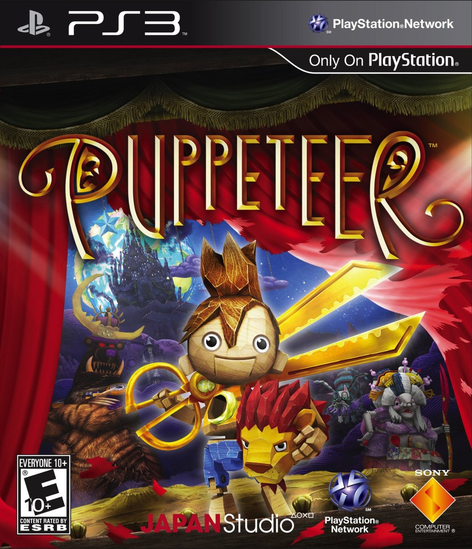 Puppeteer PS3 coverHQ (BCUS98227)