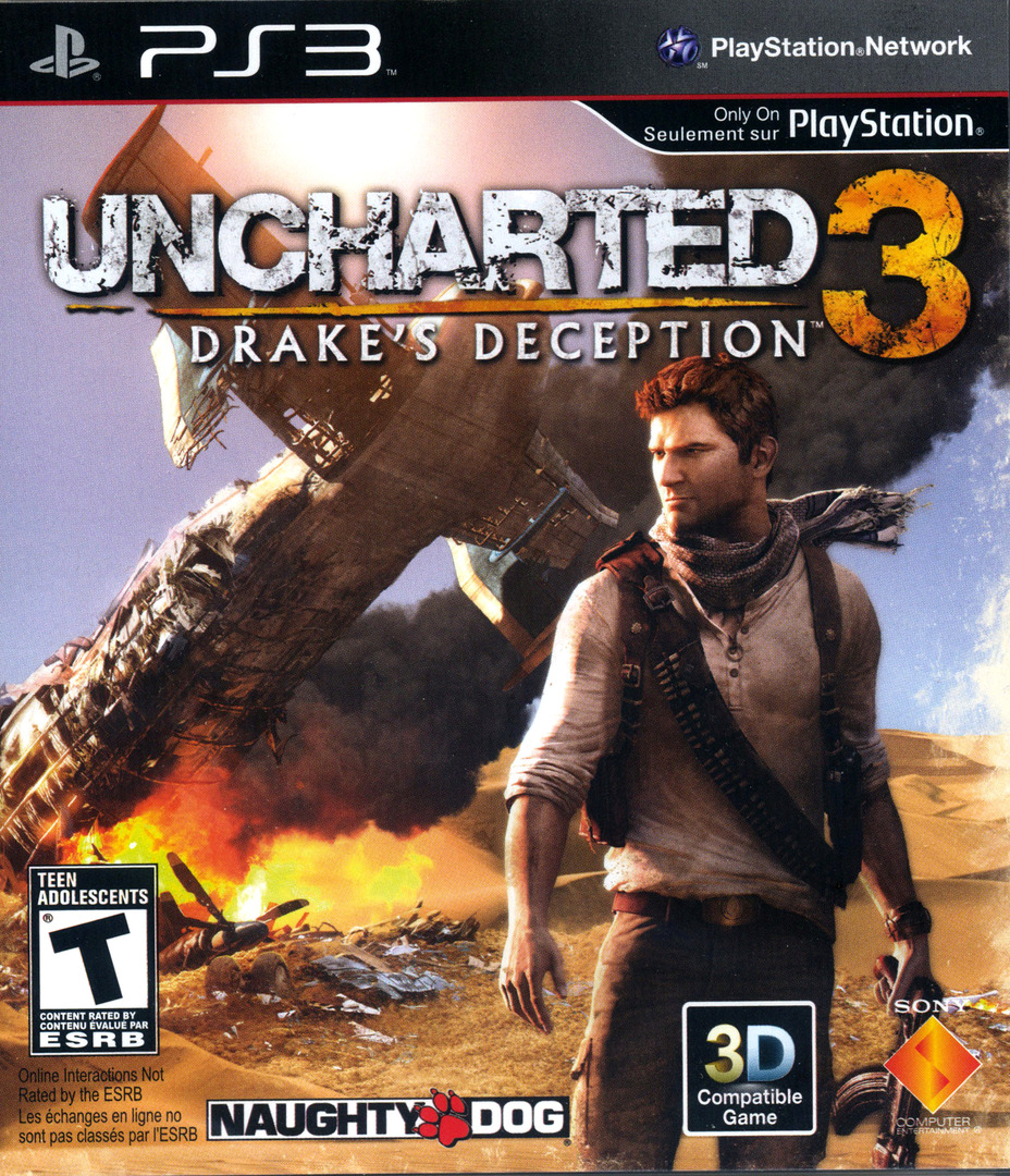 Uncharted 3: Drake's Deception PS3 coverHQ (BCUS98233)