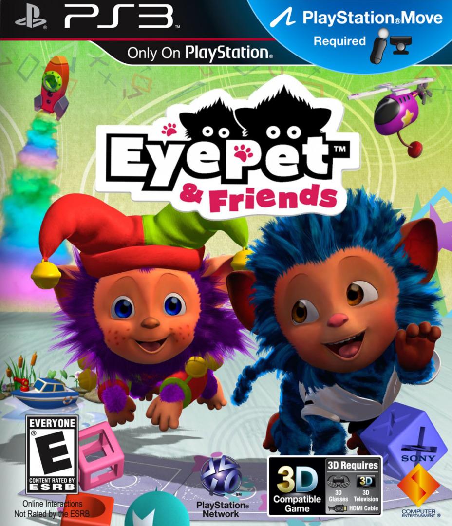 EyePet & Friends PS3 coverHQ (BCUS98235)