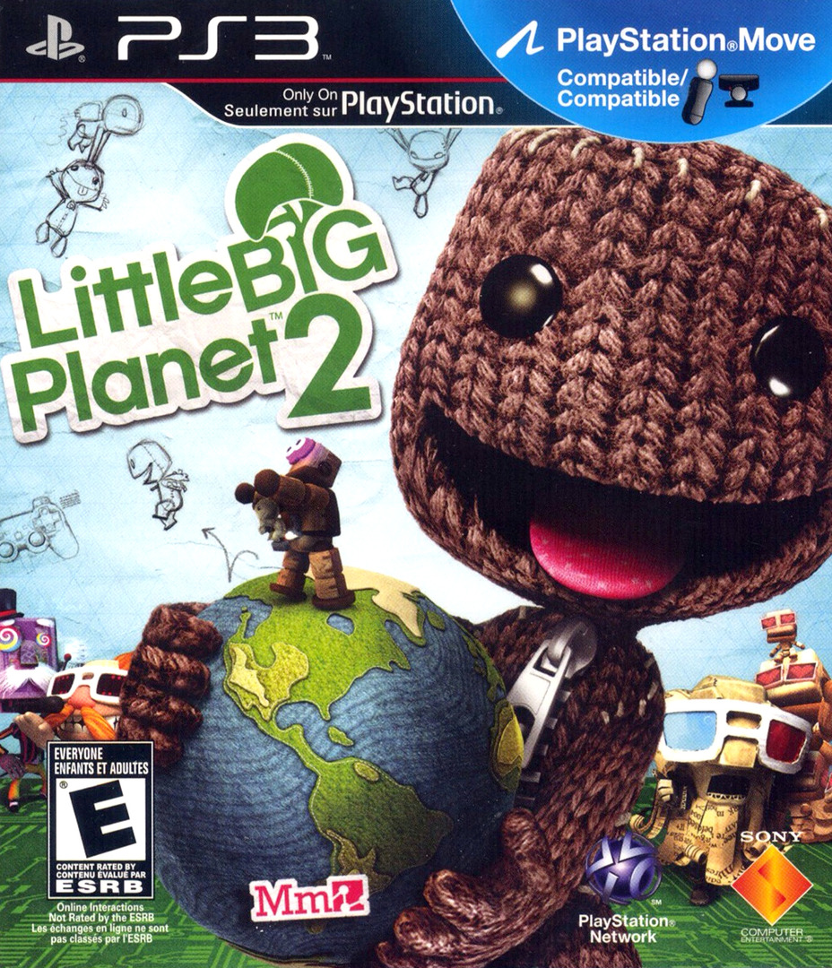 LittleBigPlanet 2 PS3 coverHQ (BCUS98245)