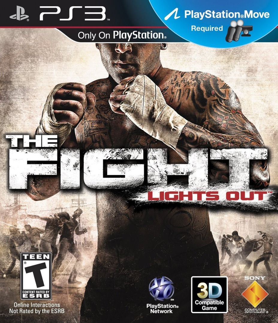 The Fight: Lights Out PS3 coverHQ (BCUS98255)