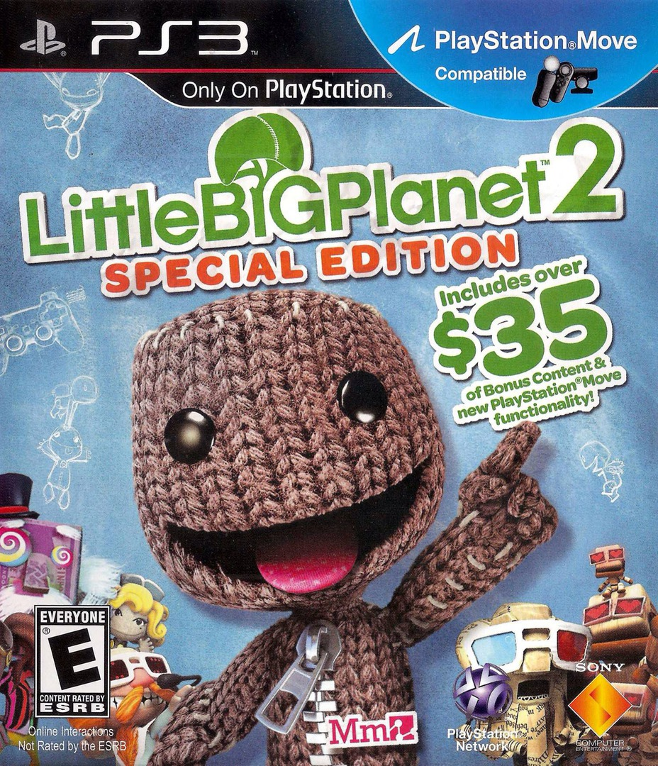 LittleBigPlanet 2 (Special Edition) PS3 coverHQ (BCUS98372)