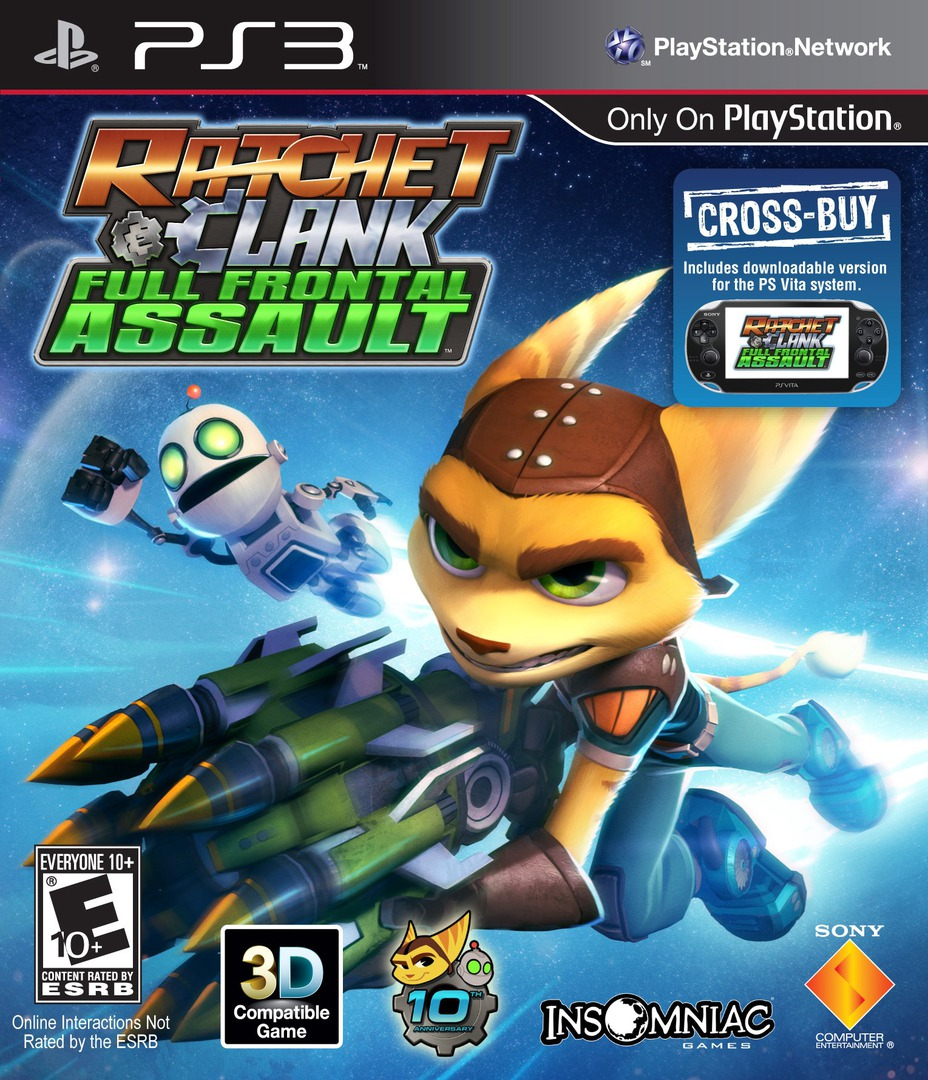 Ratchet & Clank: Full Frontal Assault PS3 coverHQ (BCUS98380)