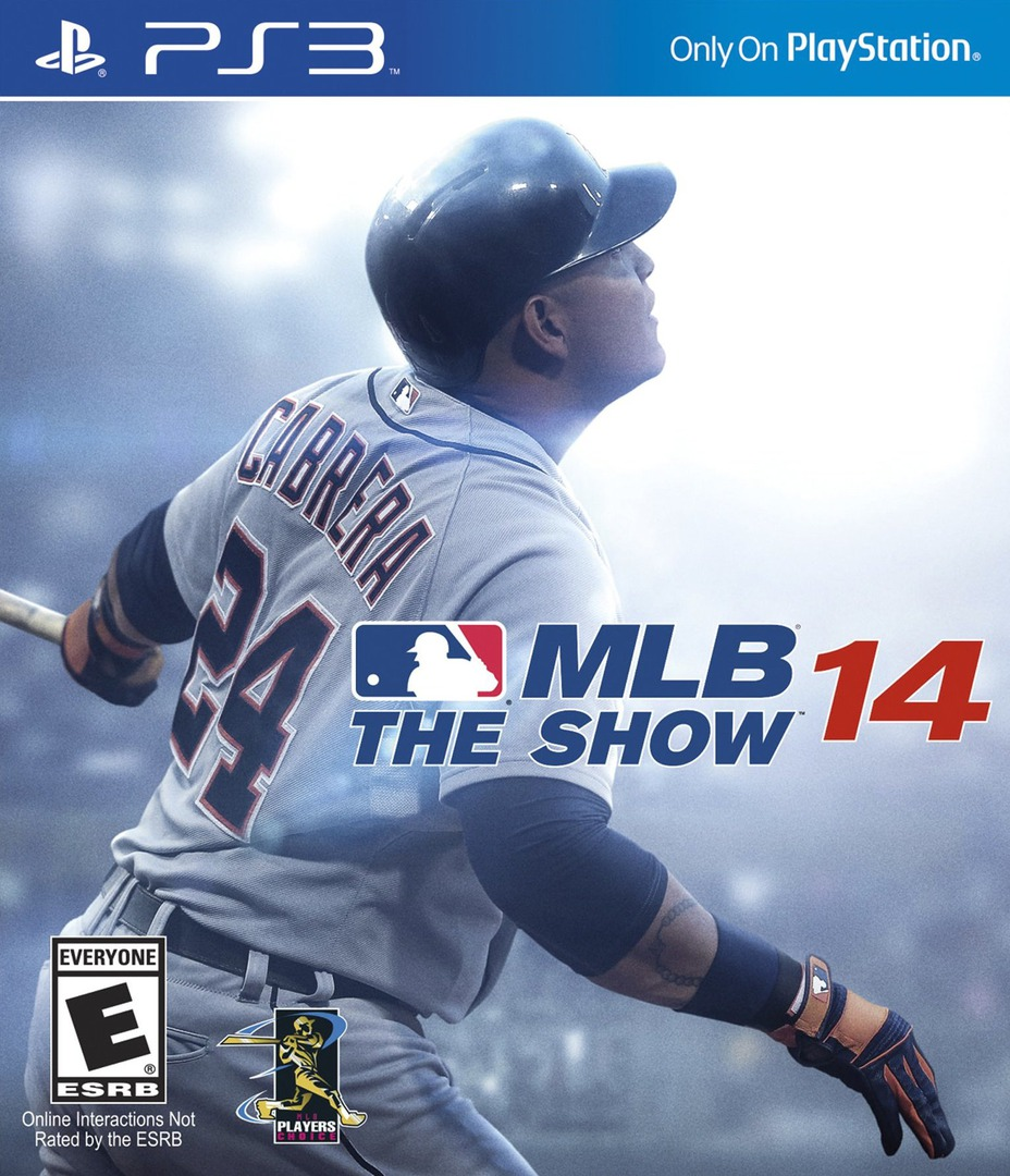 MLB 14: The Show PS3 coverHQ (BCUS99195)