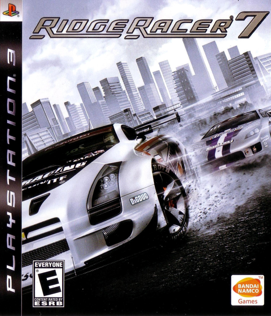 Ridge Racer 7 PS3 coverHQ (BLUS30001)