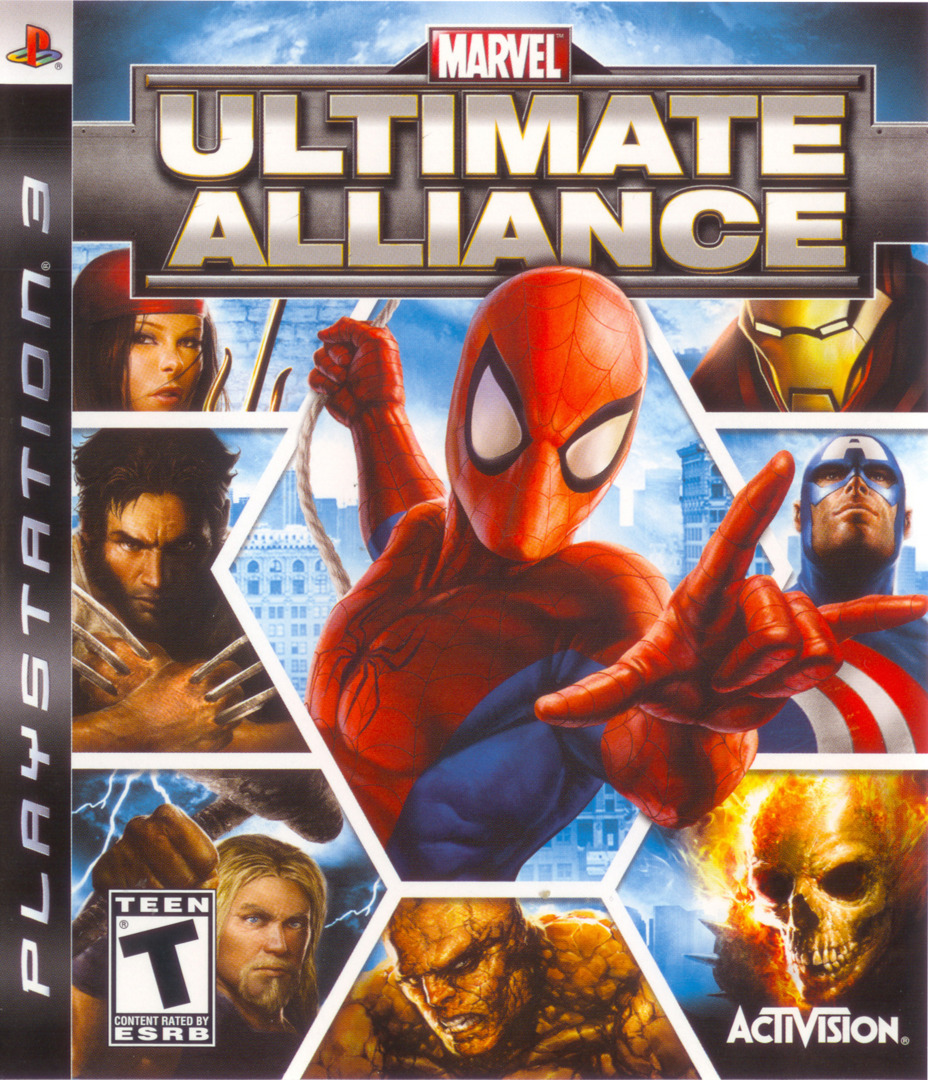 Marvel: Ultimate Alliance PS3 coverHQ (BLUS30010)