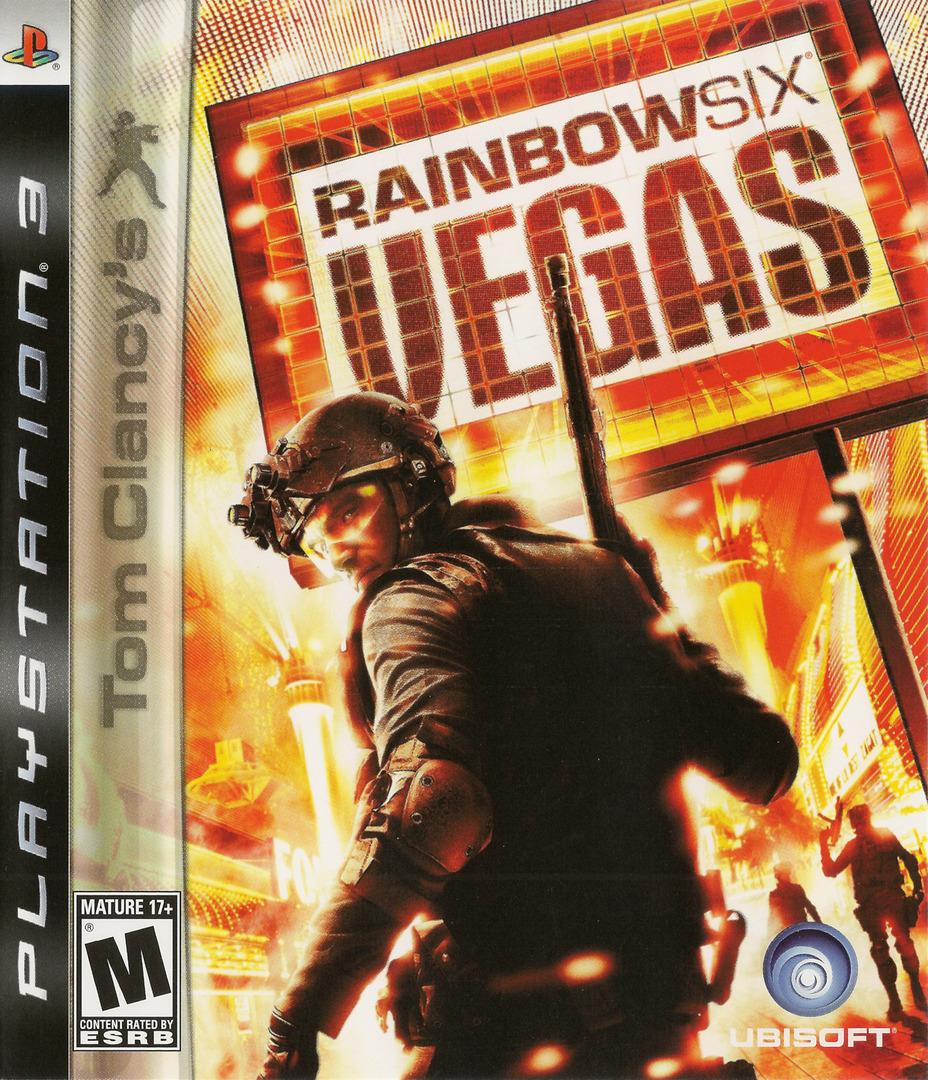 Tom Clancy's Rainbow Six: Vegas PS3 coverHQ (BLUS30018)