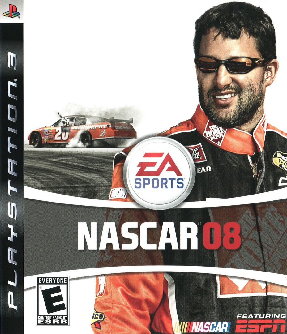 NASCAR '08 PS3 coverHQ (BLUS30040)