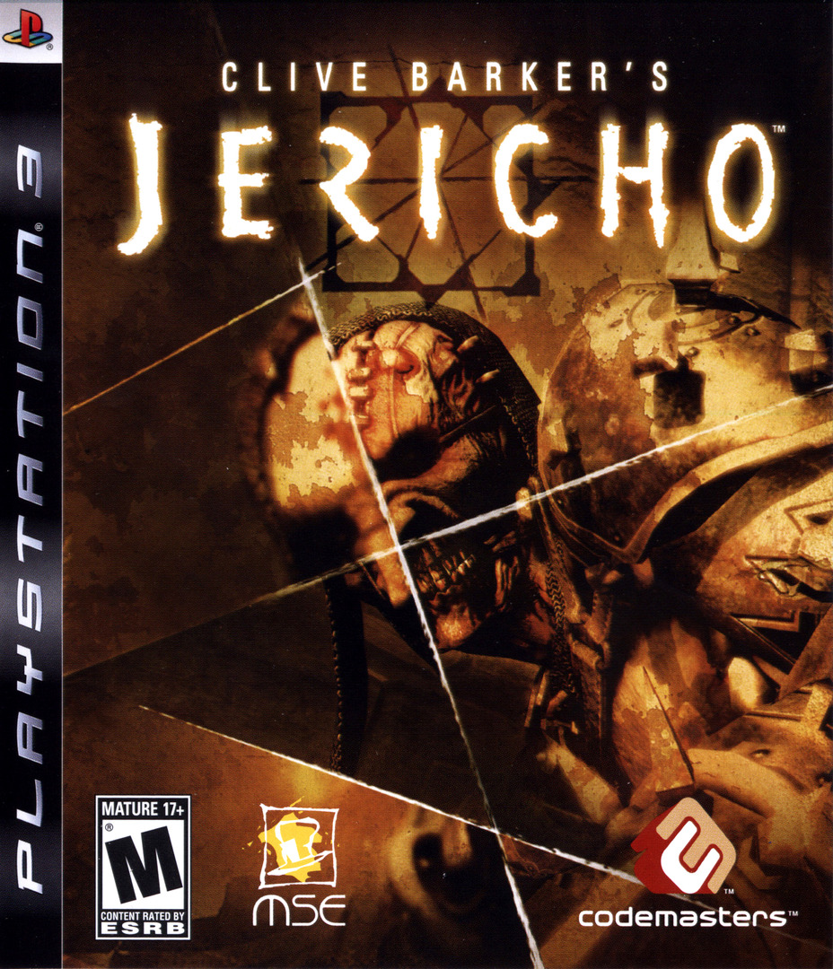 Clive Barker's Jericho PS3 coverHQ (BLUS30063)