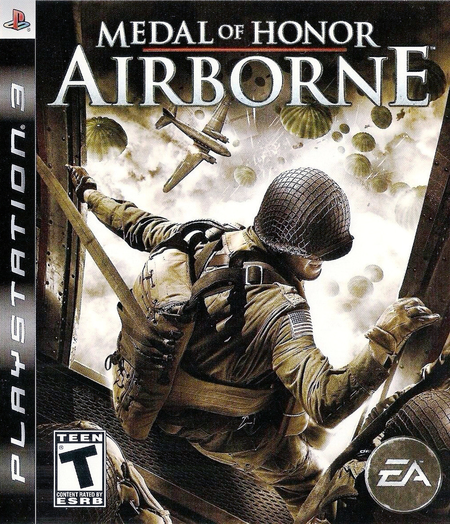 Medal of Honor: Airborne PS3 coverHQ (BLUS30067)