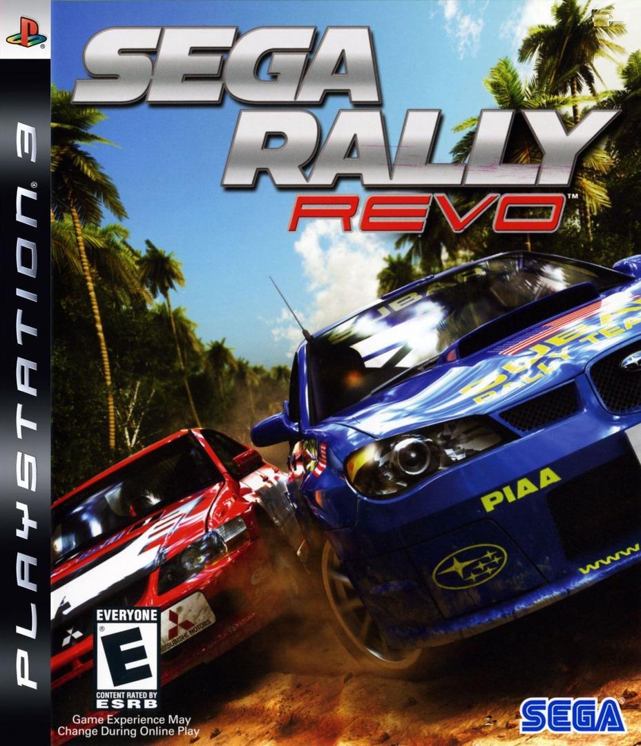 Sega Rally: Revo PS3 coverHQ (BLUS30068)