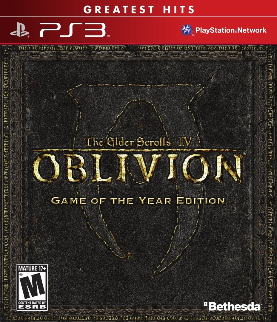 The Elder Scrolls IV: Oblivion (Game of the Year Edition) Array coverHQ (BLUS30087)