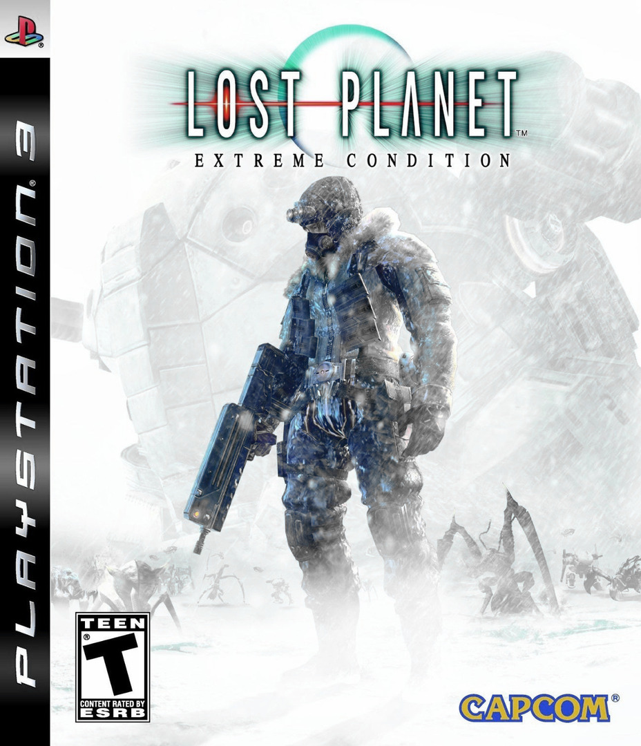 Lost Planet: Extreme Condition PS3 coverHQ (BLUS30113)