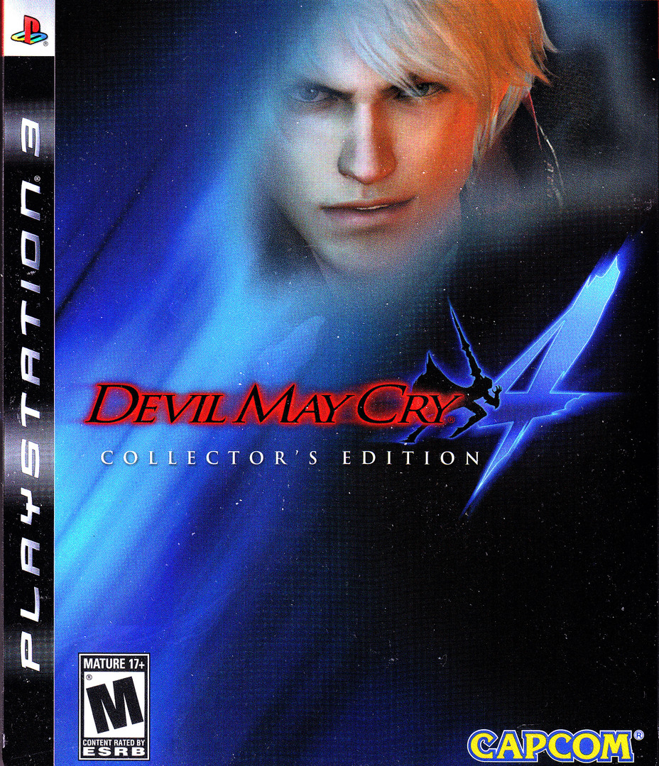 Devil May Cry 4 (Collector's Edition) PS3 coverHQ (BLUS30124)