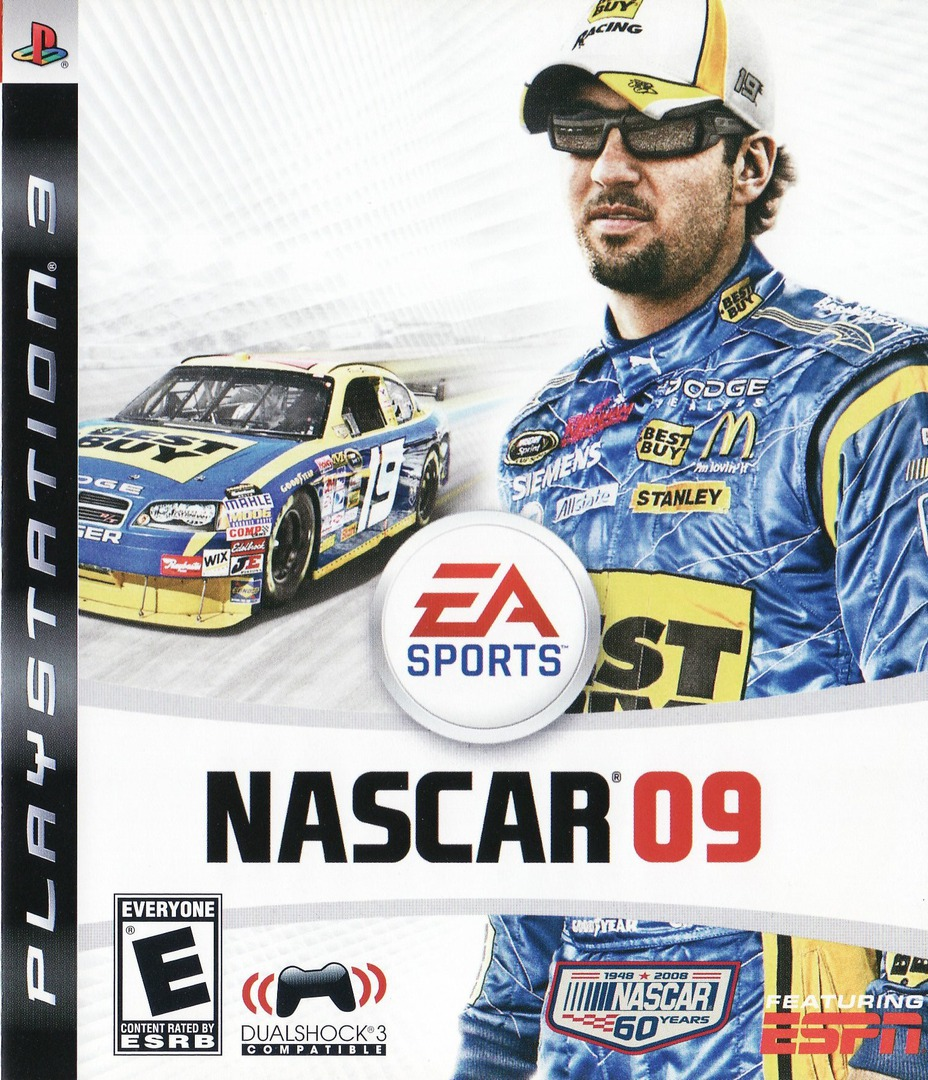 NASCAR '09 PS3 coverHQ (BLUS30139)