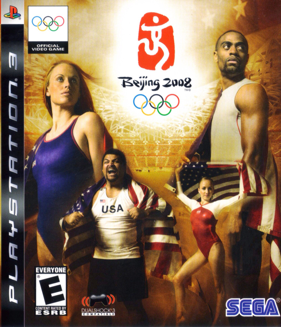 Beijing 2008: The Official Video Game of the Olympic Games PS3 coverHQ (BLUS30154)