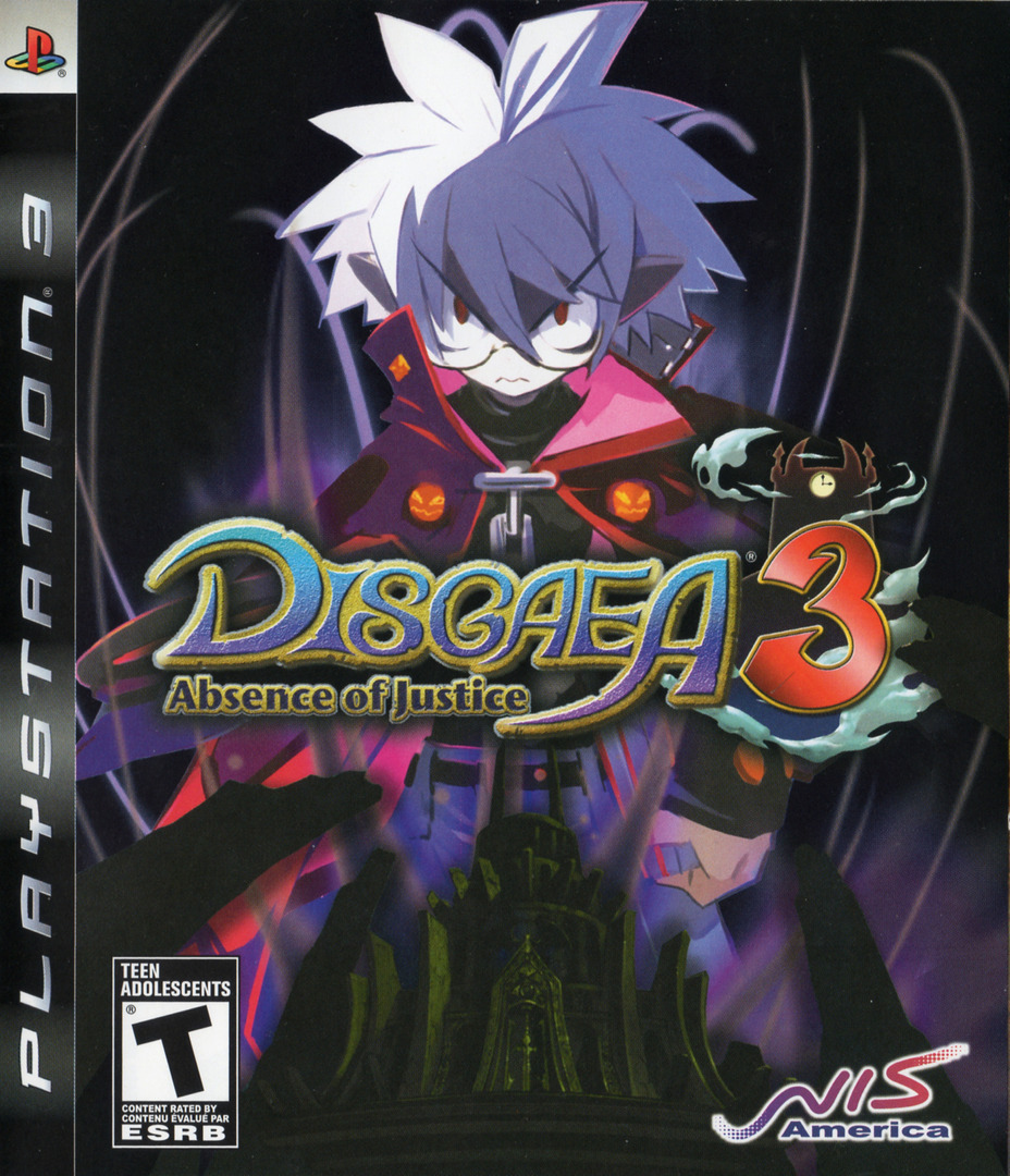 Disgaea 3: Absence of Justice PS3 coverHQ (BLUS30181)