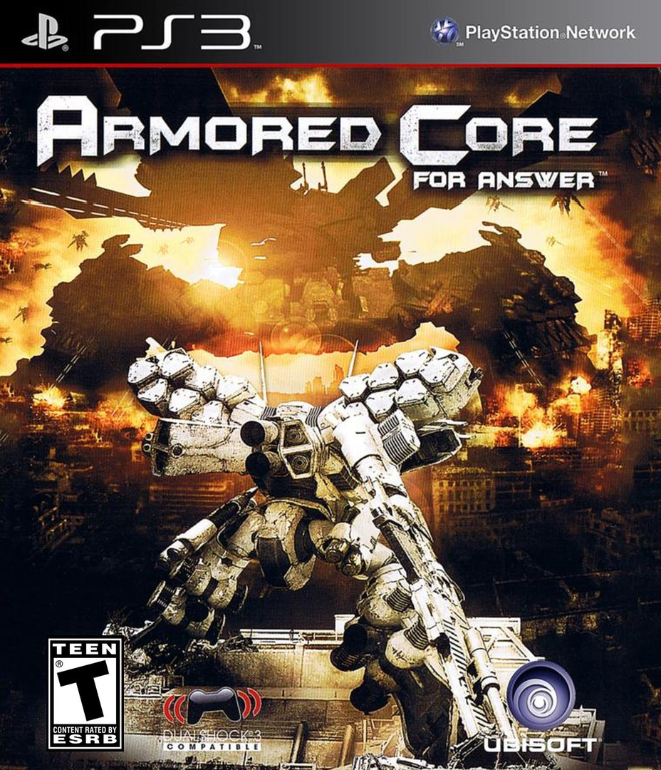 Armored Core: For Answer Array coverHQ (BLUS30187)