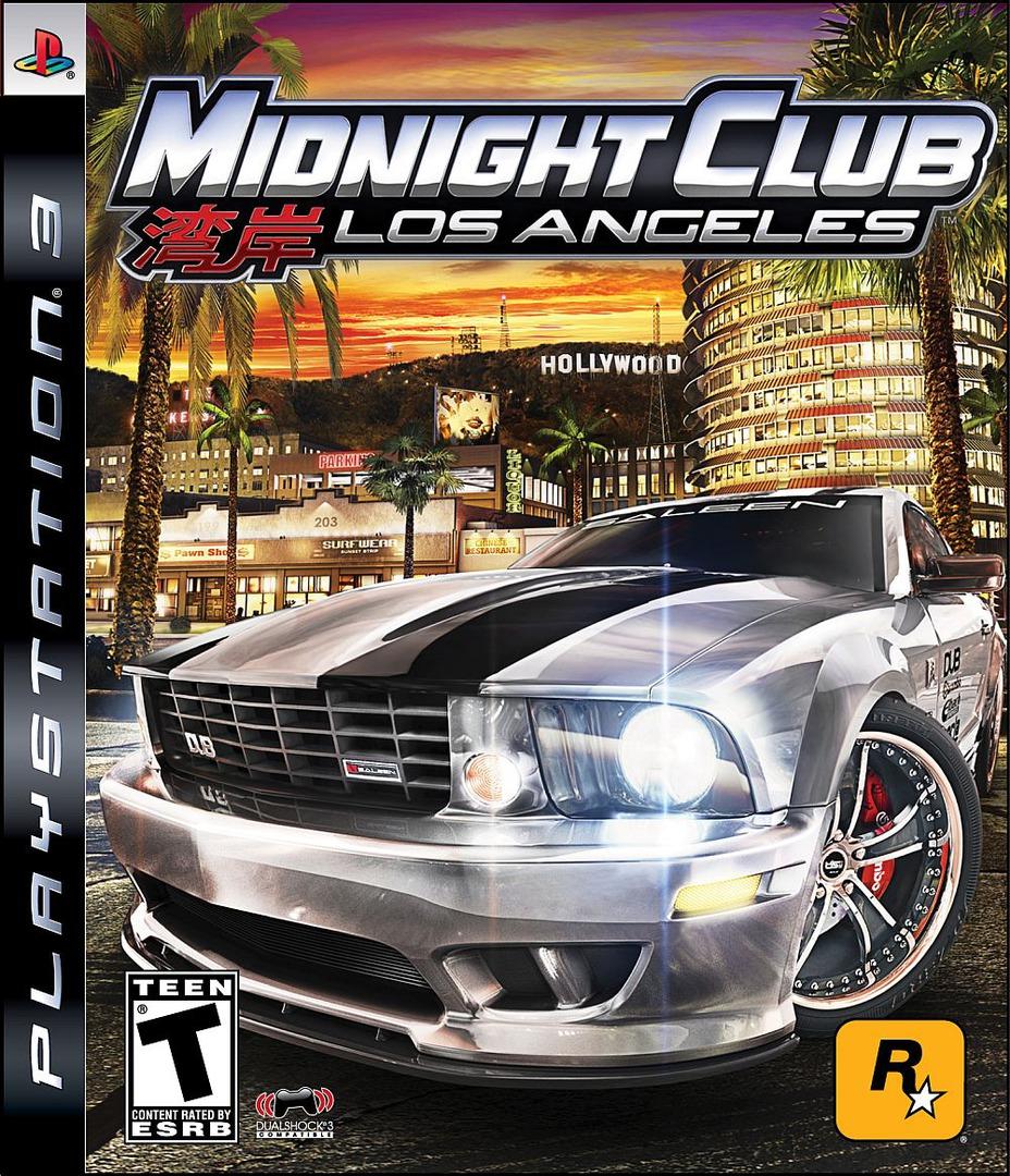 Midnight Club: Los Angeles PS3 coverHQ (BLUS30190)