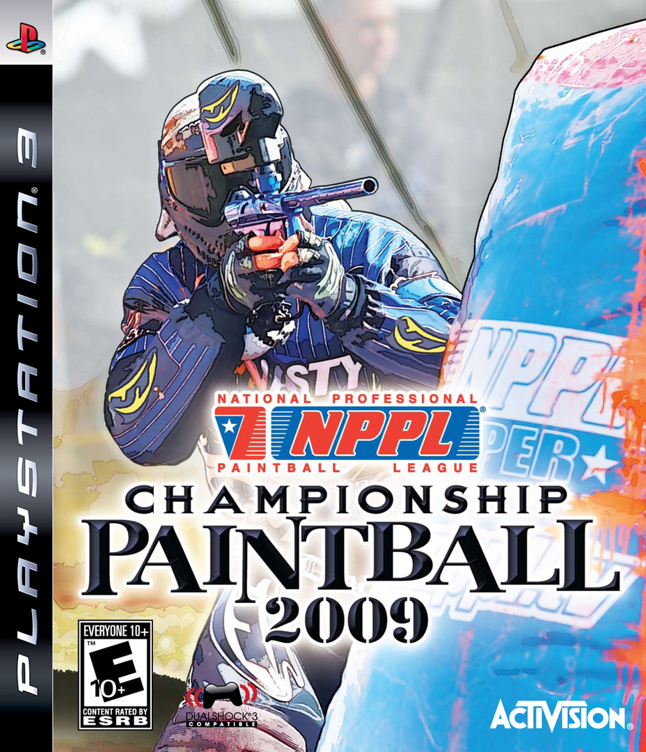 NPPL Championship Paintball 2009 PS3 coverHQ (BLUS30254)