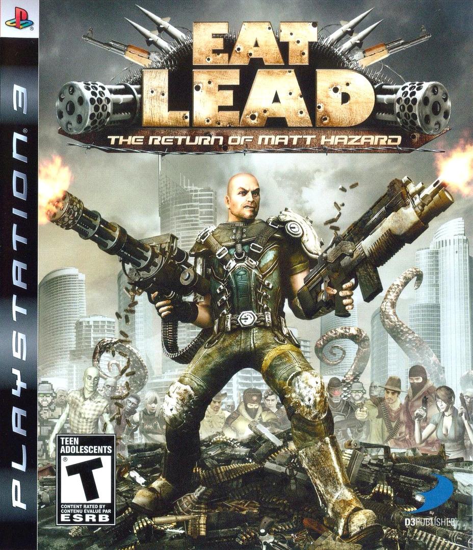 Eat Lead: The Return of Matt Hazard PS3 coverHQ (BLUS30267)